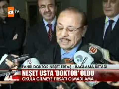İTÜ Büyük Usta Neşet Ertaş'a Fahri Doktor Ünvanı Verdi