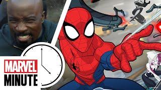 Marvel's Luke Cage! Marvel's Cloak and Dagger! Marvel's Spider-Man!   Marvel Minute
