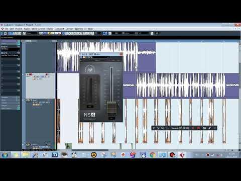 Waves NS1 - плагин. Удаление шума из аудио. Очистка акапеллы от шума.