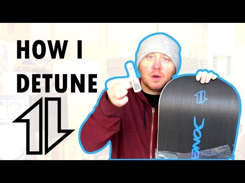Snowboard Detuning: How I do it.