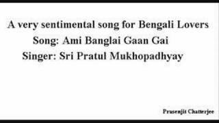 Ami Banglai Gaan Gai - Pratul Mukhopadhay