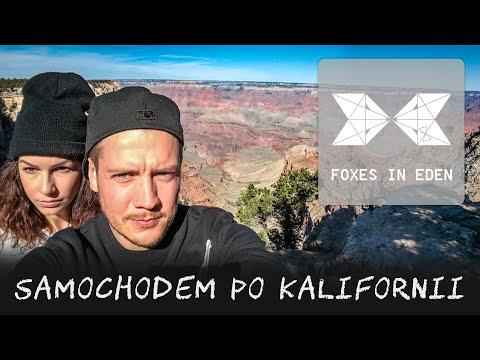 FOXESINEDEN - Odcinek 24 - SAMOCHODEM PO KALIFORNII. Parki Narodowe Ameryki Vs Miasta USA.