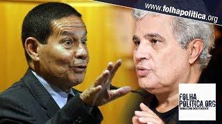 Jornalistas tentam ridicularizar General Mourão citando um perfil fake