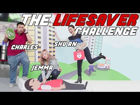 The Lifesaver Challenge ft. Shu An vs Jemma vs Charles