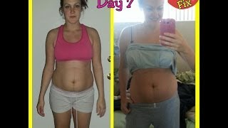 21 Day Fix Review - Day 7 Before and After Transformation