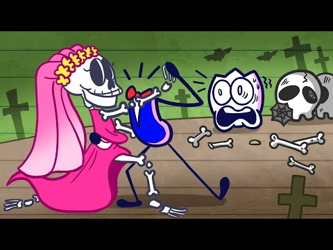 Max Met The Corpse Bride  Short Animated Pencilmation of Funny Moment