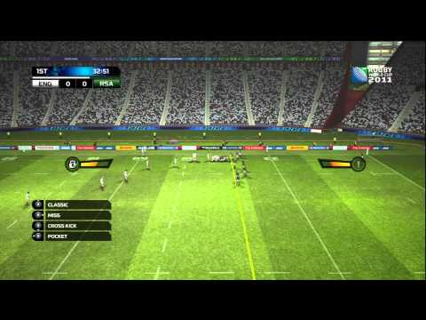 Rugby World Cup 2011 SetPlay Tutorial