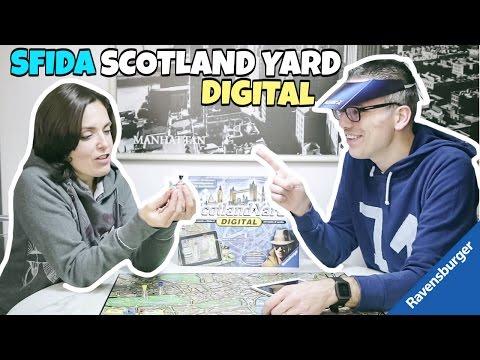 SFIDA A SCOTLAND YARD DIGITAL con l'APP di realtà aumentata