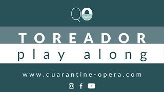 Quarantine Opera: Carmen / TOREADOR - Instruction & play along video