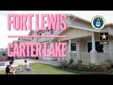 Fort Lewis House Tour Carter Lake