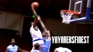 NBA Draft Pick Orlando Johnson Mixtape!!! Killing the SF Pro-Am!!!
