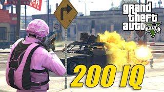 """200 IQ ZAGRANIE! GTA 5 Online Hogaty i EKIPA """"PODWÓJNE PIENIĄDZE ZA WALKE!"""" #280"""