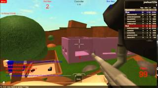 Roblox Let's paintball!