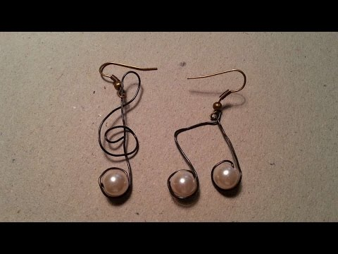 How To Make Musical Wire Earrings - DIY Style Tutorial - Guidecentral