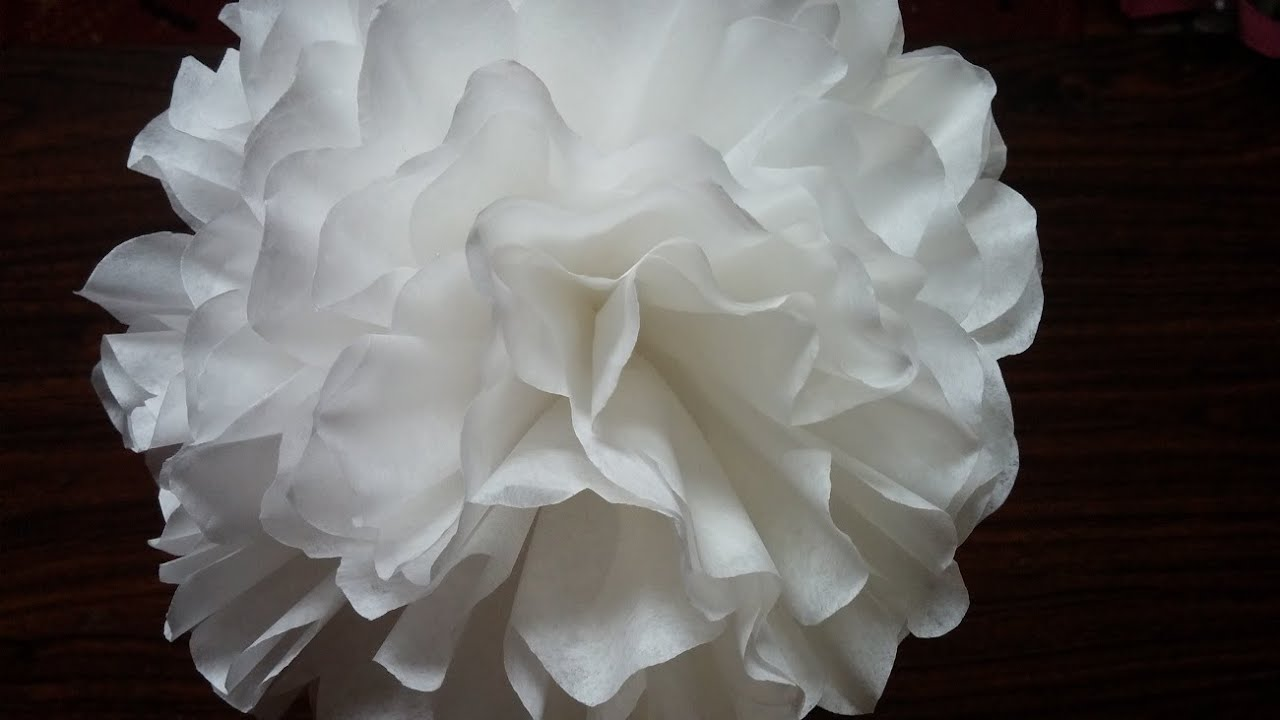 Coffee Filter Flower Youtube