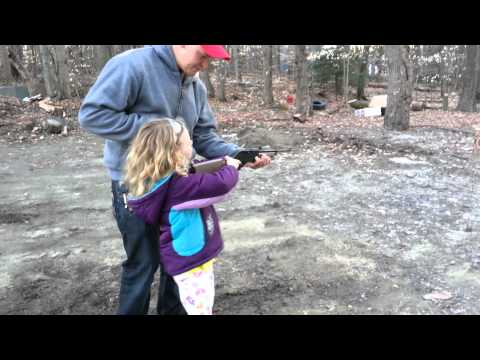 Teaching my daughter how to shoot