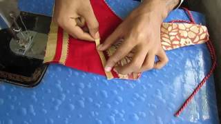 How to make Fashionable designer blouse V part 3 of 3