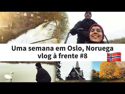 Sete dias na região de Oslo, capital da Noruega - vlog à frente #8
