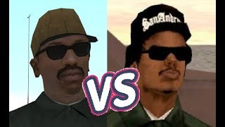 CJ vs Ryder - Who will win? Pier 69 - Syndicate Mission 8 - GTA San Andreas
