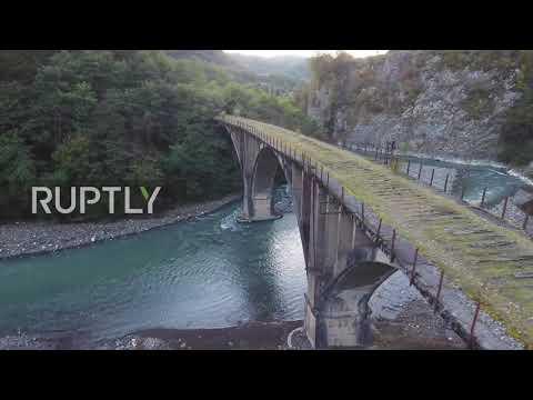 Abkhazia: Explore the dramatic beauty of an abandoned Soviet-era town in Abkhazia