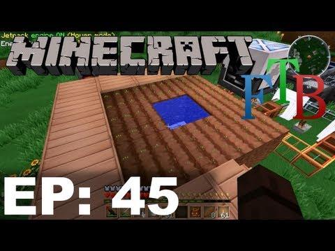 FTB Minecraft EP45 - MineFactory Planter and Harvester