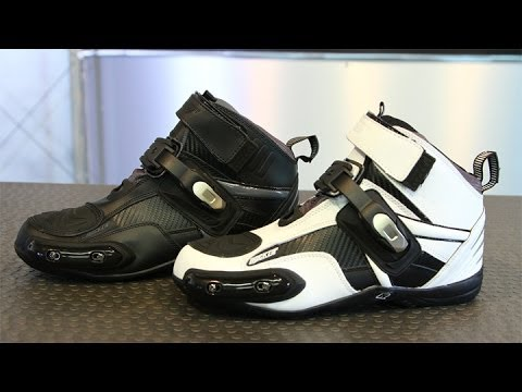 Joe Rocket Atomic Motorcycle Boots Black//Grey Mens All Sizes