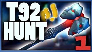 RS3: Staff Of Sliske Progress - Getting T92 Weapons Ep1 - Runescape 3 Money Making