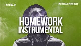 Wiz Khalifa Homework Instrumental Prod. by Dices *FREE DL*