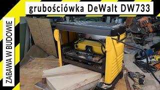 Grubościówka DeWalt DW733 - prezentacja, demonstracja pracy