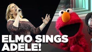 ELMO sings Adele