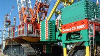 長崎市の女神大橋建設時に戸町側陸部の一括桁架設工事等で 活躍した最大...