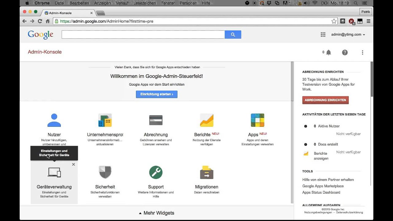 Email spoofing security hole discovered in Google Admin