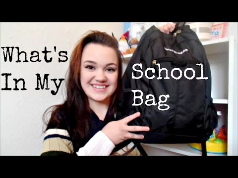 WHAT'S IN MY SCHOOL BAG! | Certified Nursing Assistant