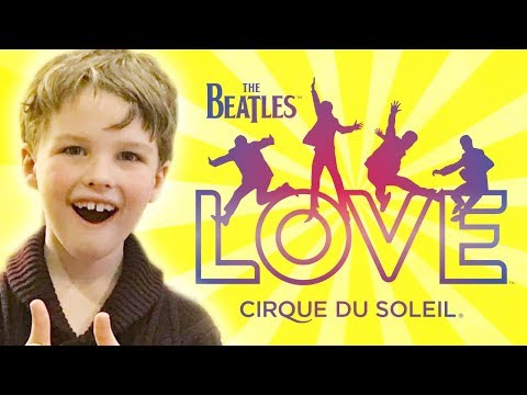 Iain Armitage (Young Sheldon) Reviews | The Beatles LOVE | Cirque du Soleil