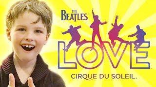 Video Iain Armitage (Young Sheldon) Reviews | The Beatles LOVE | Cirque du Soleil download MP3, 3GP, MP4, WEBM, AVI, FLV Juni 2018