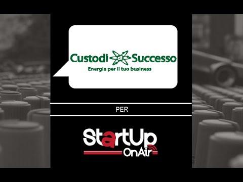 Intervista a Mario Costa presidente di Custodi di Successo. Startup On Air, la radio delle startup!