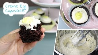Creme Egg Cupcakes | Vegan Recipe By Mary's Test Kitchen