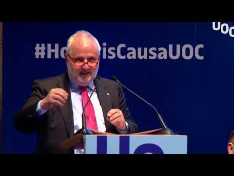 Investidura Honoris Causa Manuel Borja-Villel. Parlament del rector
