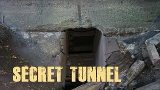 Exploring Abandoned Town! FOUND Secret Hidden Underground Entrance!!