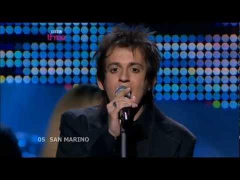 Eurovision 2008 San Marino HD: Miodio - Complice.