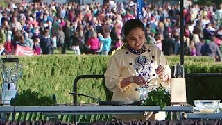 2014 White House Easter Egg Roll: Play with Your Food with Maneet Chauhan