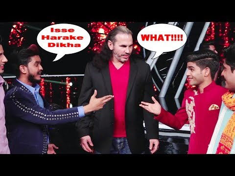 WWE Superstar Matt Hardy Challenged By Indian Idol 2018 Contestant Salman Ali