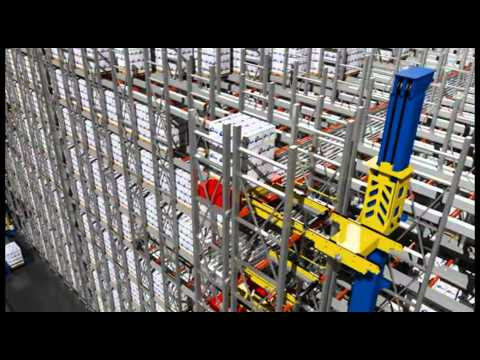 Power Automation Systems - PowerStor Deep Lane ASRS