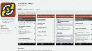 Find College Scholarships with the Scholarship Advisor App