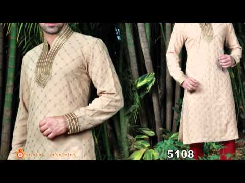 Kurtas for Men, Indian Mens Clothing, Ethnic Menswear Volume 2 Silk India
