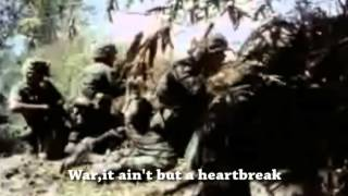 Edwin Starr - War (w/lyrics + Vietnam War footage)