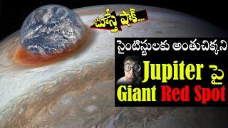 Jupiter's Red Spot Mystery in Telugu || గురు గ్రహం మీద ఎర్రని మచ్చ ఏంటి ? || Abbas TV Telugu