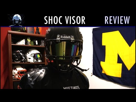 how to put a visor on a riddell victor