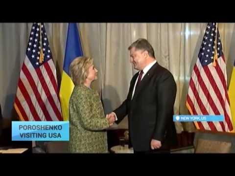 Poroshenko's US Visit:  Ukraine thanks world leaders for their support