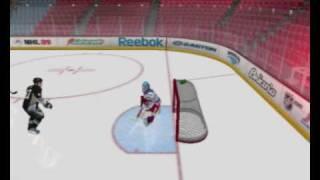 NHL 09 PC goals gameplay